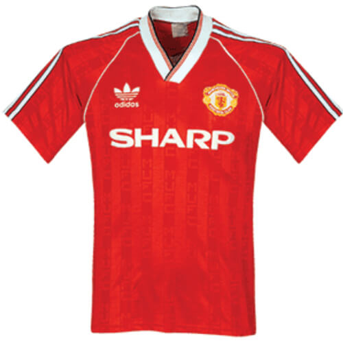 Reto Manchester United Home Football Shirt 88