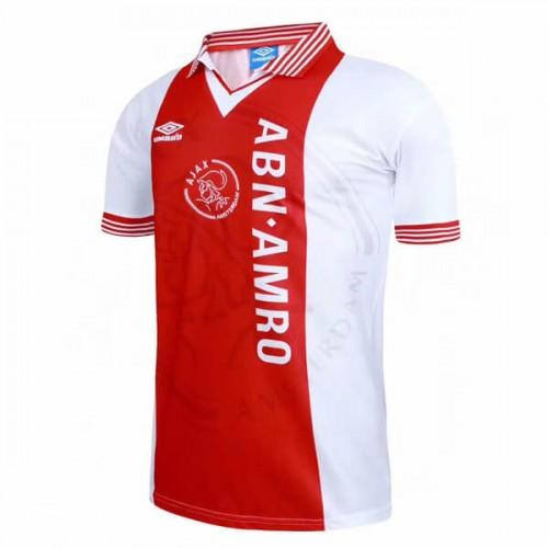 Retro Ajax Home Football Shirt 95 96