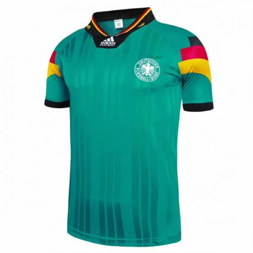 Retro Germany Away 1992 Football Shirt