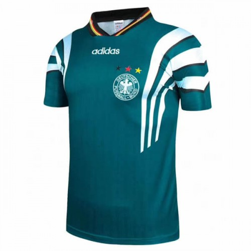 Retro Germany Away 1996 Football Shirt