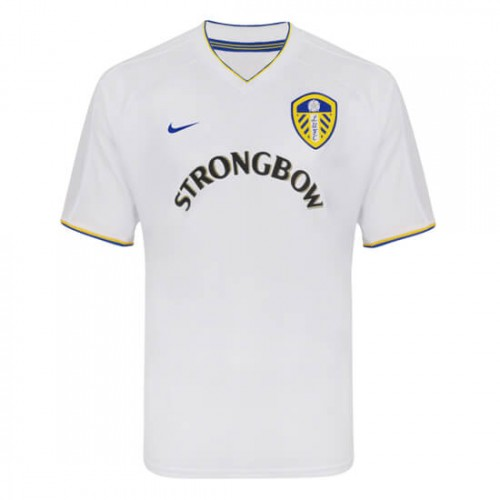 Retro Leeds United Home Football Shirt 2001
