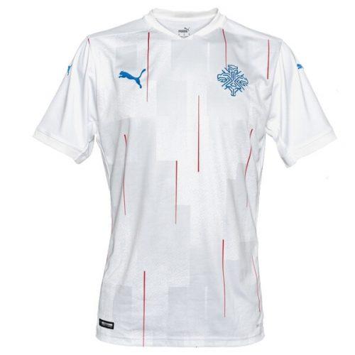 Iceland Away Football Shirt 20 21