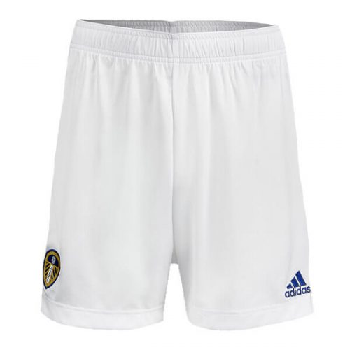 Leeds United Home Football Shorts 20 21