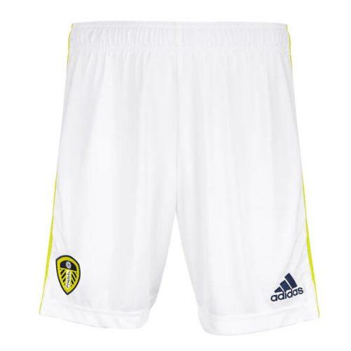 Leeds United Home Football Shorts 2122
