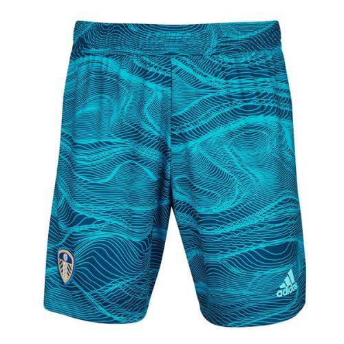 Leeds United Home Goalkeeper Football Shorts 21 22
