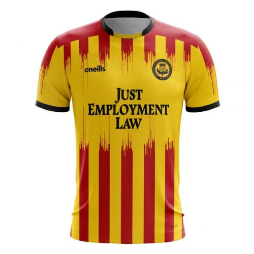 Partick Thistle Home Football Shirt 20 21