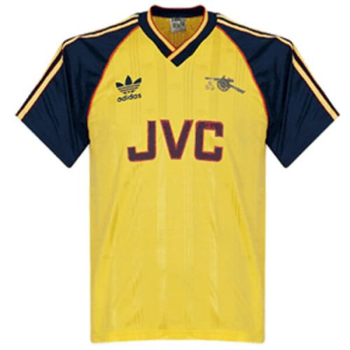 Retro Arsenal Away Football Shirt 1988