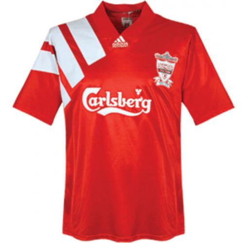 Retro Liverpool Home Football Shirt 1992