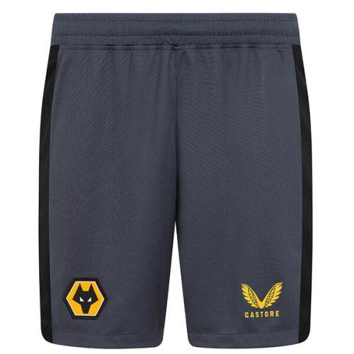 Wolverhampton Wanderers Away Football Shorts 21 22