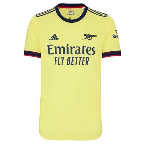 Arsenal Away Player Version Football Shirt 21 22