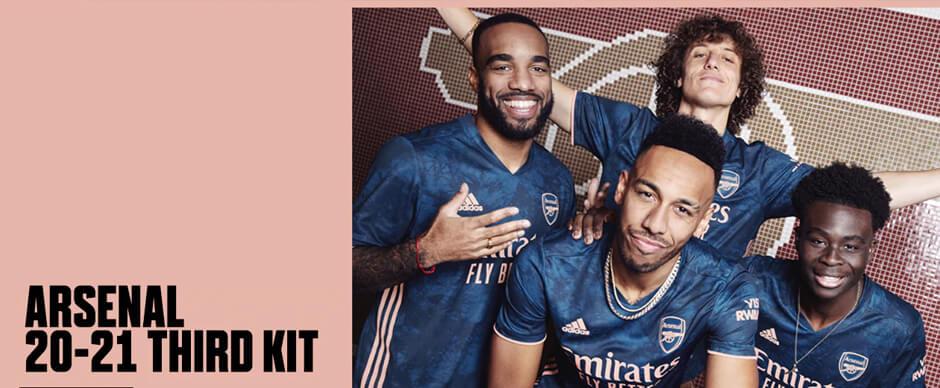 Arsenal Third Football Shirt