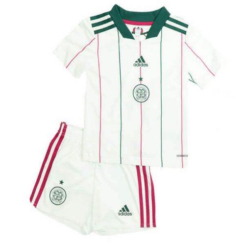 Celtic Third Kids Football Kit 21 22