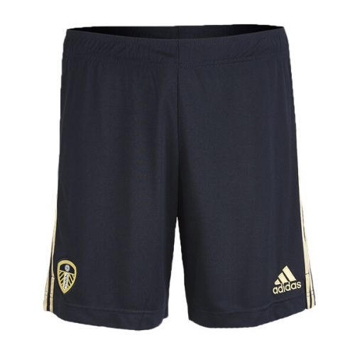Leeds Away Football Shorts 20 21