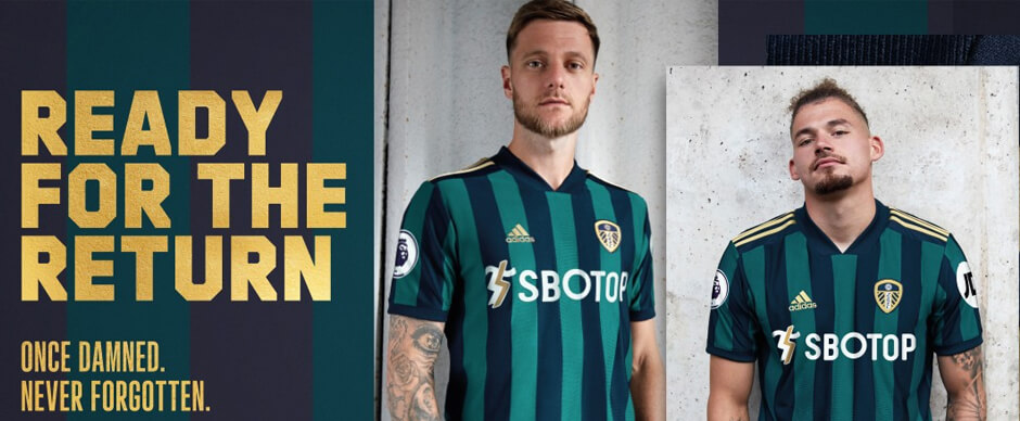 Leeds United Away Football Shirt