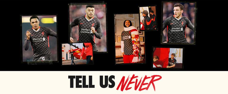 Liverpool Third Football Shirt