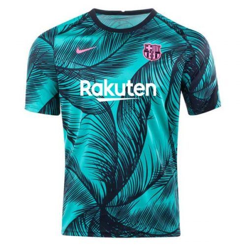 Barcelona UCL Pre Match Training Soccer Jersey