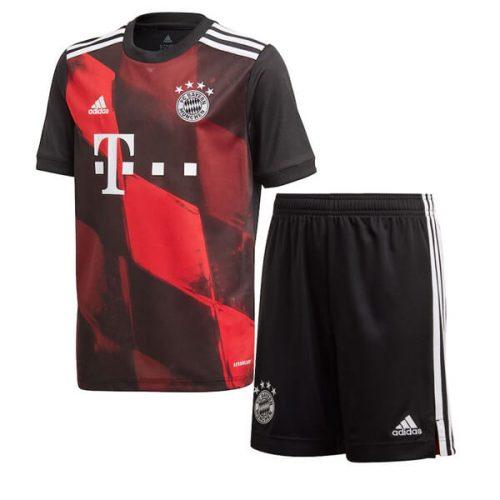 Bayern Munich Third Kids Football Kit 20 21