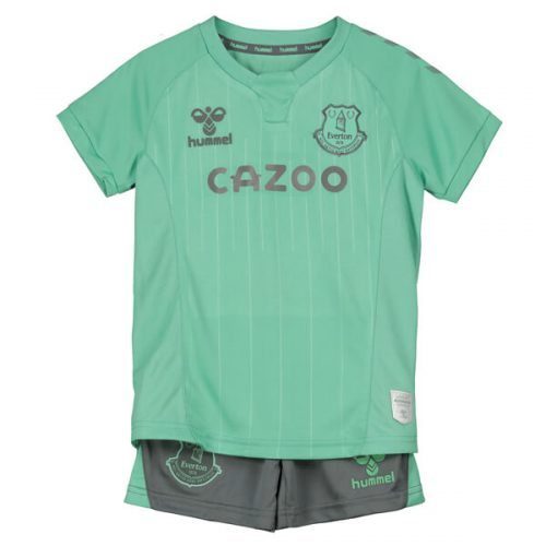Everton Third Kids Football Kit 20 21