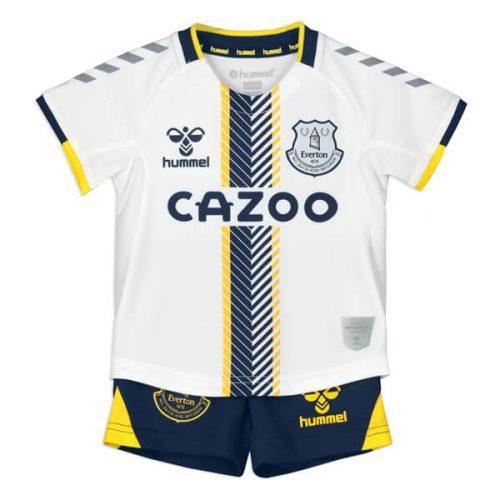 Everton Third Kids Football Kit 21 22