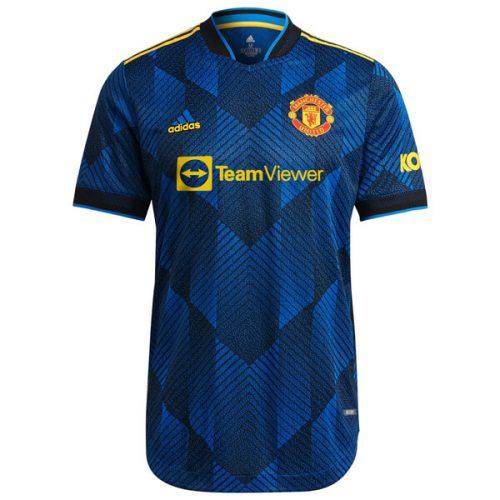 Manchester United Third Player Version Football Shirt 21 22