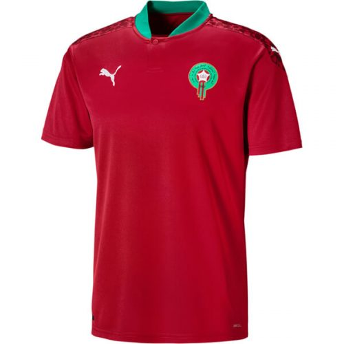 Morocco Home Football Shirt 20 21
