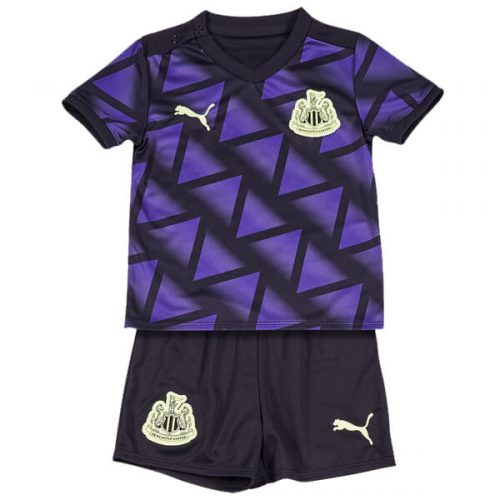 Newcastle Third Kids Football Kit 20 21