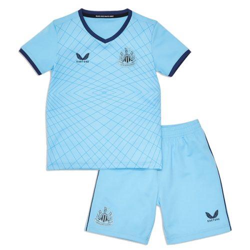 Newcastle United Third Kids Football Kit 21 22