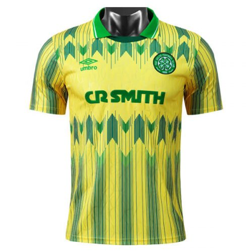 Retro Celtic Away Football Shirt 91 92