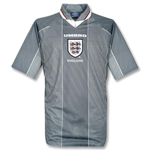 Retro England Away Football Shirt 1996