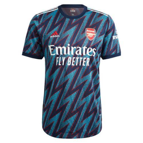Arsenal Third Player Version Football Shirt 21 22