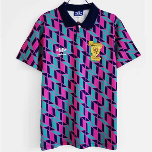 Retro Scotland Away Football Shirt 1990