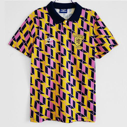 Retro Scotland Away Football Shirt 90