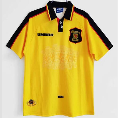 Retro Scotland Away Football Shirt 97 98