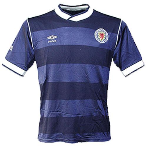 Retro Scotland Home Football Shirt 86