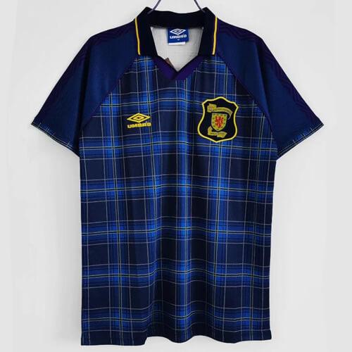 Retro Scotland Home Football Shirt 94 96