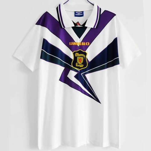 Retro Scotland Third Football Shirt 91 93