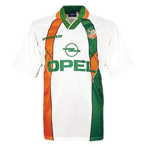 Retro Ireland Away Football Shirt 95 96