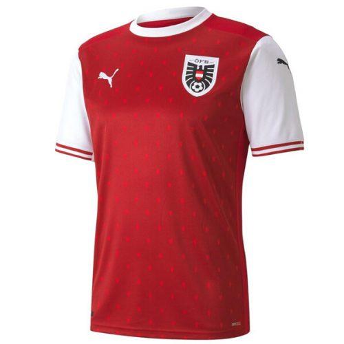 Austria Home Football Shirt 2021