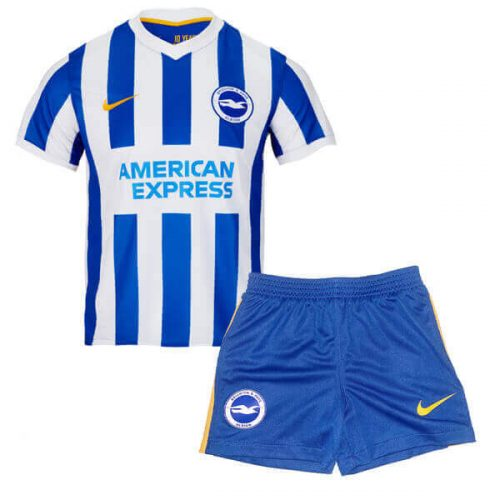 Brighton Home Kids Football Kit 21 22