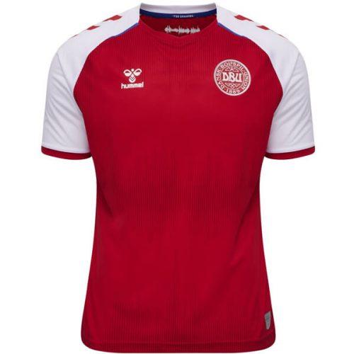 Denmark Home Football Shirt 2021