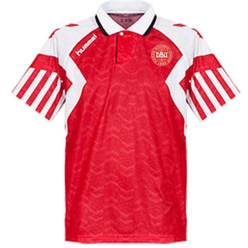 Retro Denmark Home Football Shirt 92