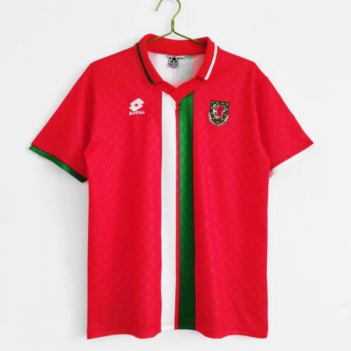 Retro Wales Home Football Shirt 96