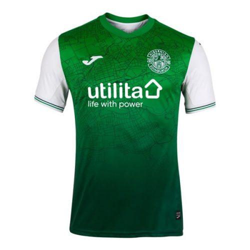 Hibernian Home Football Shirt 21 22
