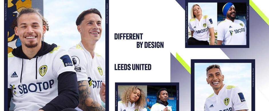Leeds Home Football Shirt 21 22