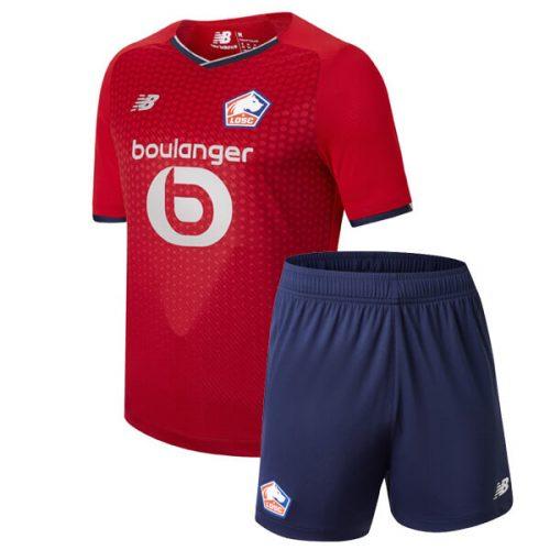 Lille Home Kids Football Kit 21 22