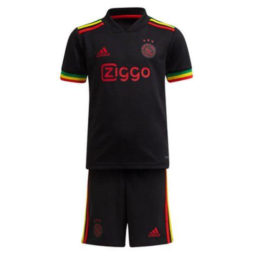 Ajax Third Kids Football Kit 21 22