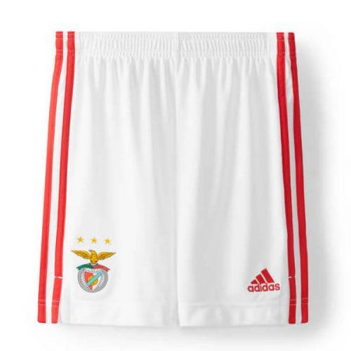 Benfica Home Football Shorts 2122