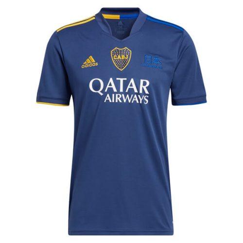 Boca Juniors Fourth Soccer Jersey 2021