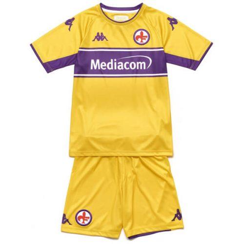 Fiorentina Third Kids Football Kit 21 22