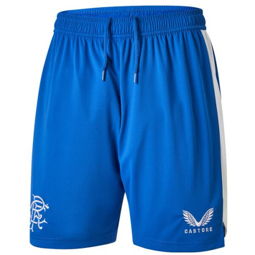 Rangers Pre Match Training Football Shorts - Blue